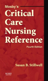 Cover image for Mosby's Critical Care Nursing Reference