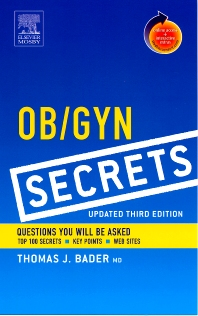 Ob/Gyn Secrets, Updated Edition