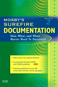 Mosby's Surefire Documentation - 2nd Edition - ISBN: 9780323034340