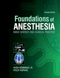 Cover image for Foundations of Anesthesia