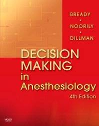 Cover image for Decision Making in Anesthesiology