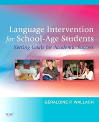 Cover image for Language Intervention for School-Age Students