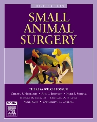 Cover image for Small Animal Surgery Textbook