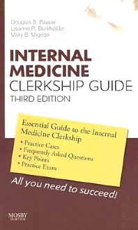 Cover image for Internal Medicine Clerkship Guide