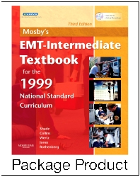 Mosby's EMT-Intermediate Textbook for 1999 National Standard Curriculum - Text and VPE Package