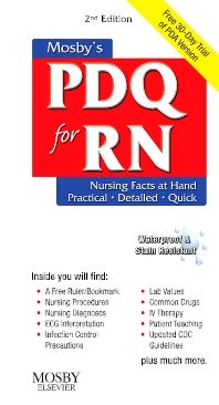 Mosby's PDQ for RN - 2nd Edition - ISBN: 9780323055802