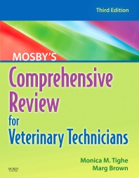 Cover image for Mosby's Comprehensive Review for Veterinary Technicians