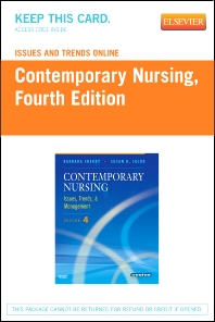 Issues and Trends Online for Contemporary Nursing (Access Code) - 4th Edition - ISBN: 9780323053020