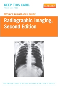 Mosby's Radiography Online: Radiographic Imaging (Access Code) - 2nd Edition - ISBN: 9780323055154