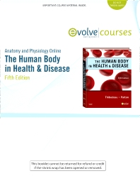 Anatomy and Physiology Online for The Human Body in Health & Disease (Access Code) - 5th Edition - ISBN: 9780323066341