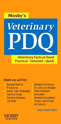 Cover image for Mosby's Veterinary PDQ