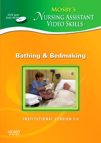 Mosby's Nursing Assistant Video Skills - Bathing & Bedmaking DVD 3.0