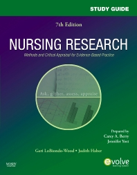 Study Guide for Nursing Research - 7th Edition