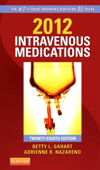 2012 Intravenous Medications