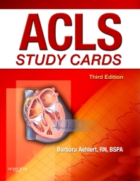 ACLS Study Cards - 3rd Edition - ISBN: 9780323058100
