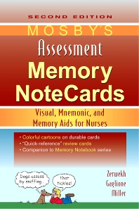 Mosby's Assessment Memory NoteCards - 2nd Edition - ISBN: 9780323067454, 9780323172721