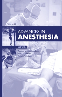 Cover image for Advances in Anesthesia, 2010