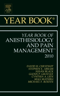 Cover image for Year Book of Anesthesiology and Pain Management 2010
