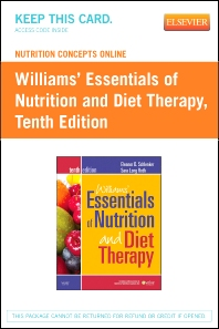 Nutrition Concepts Online for Schlenker: Williams' Essentials of Nutrition and Diet Therapy (Access Code)