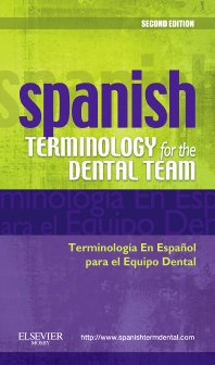 Cover image for Spanish Terminology for the Dental Team