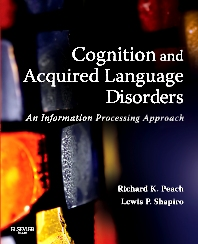 Cover image for Cognition and Acquired Language Disorders