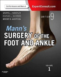 Cover image for Mann's Surgery of the Foot and Ankle, 2-Volume Set