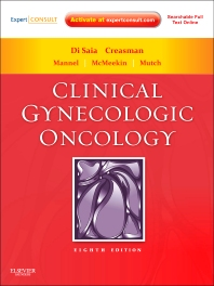Clinical Gynecologic Oncology, 8th Edition,Philip DiSaia,William Creasman,ISBN9780323074193