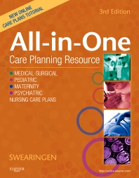 All-In-One Care Planning Resource, 3rd Edition,Pamela Swearingen,ISBN9780323074209