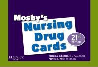 Mosby's Nursing Drug Cards - 21st Edition - ISBN: 9780323077019, 9781455711680