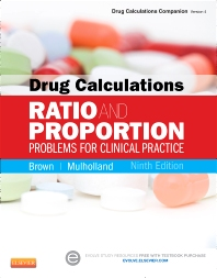 Drug Calculations - 9th Edition - ISBN: 9780323101554