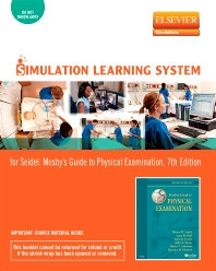 Simulation Learning System for Mosby's Guide to Physical Examination (Access Code) - 7th Edition - ISBN: 9780323078771