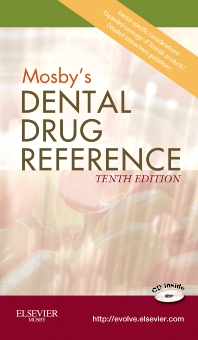 Cover image for Mosby's Dental Drug Reference