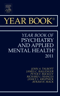 Cover image for Year Book of Psychiatry and Applied Mental Health 2011
