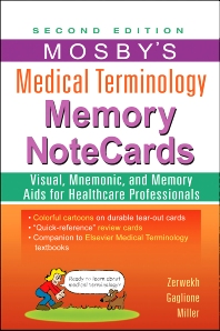 Mosby's Medical Terminology Memory NoteCards - 2nd Edition - ISBN: 9780323082730, 9780323170871
