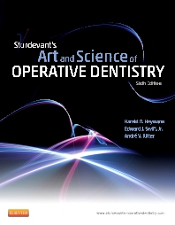 Sturdevant's Art and Science of Operative Dentistry, 6th Edition,Harald Heymann,Edward Swift, Jr. ,Andre Ritter,ISBN9780323083331