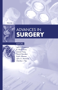 Cover image for Advances in Surgery 2011