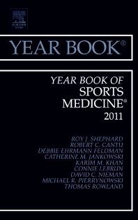 Cover image for Year Book of Sports Medicine 2011