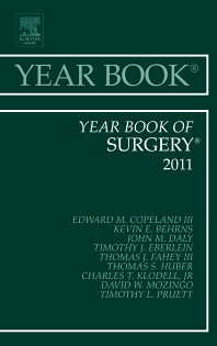 Cover image for Year Book of Surgery 2011