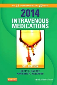 2014 Intravenous Medications - 30th Edition - ISBN: 9780323084789, 9780323084802