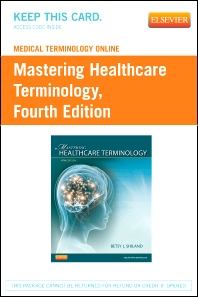 Medical Terminology Online for Mastering Healthcare Terminology (Retail Access Card) - 4th Edition