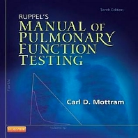 Ruppel's Manual of Pulmonary Function Testing - 10th Edition - ISBN: 9780323096201