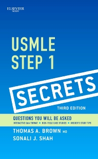 USMLE Step 1 Secrets - 3rd Edition - ISBN: 9780323085144, 9780323091268