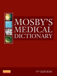 Cover image for Mosby's Medical Dictionary