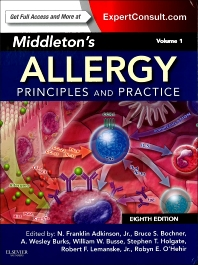 Middleton's Allergy 2-Volume Set - 8th Edition - ISBN: 9780323085939, 9780323113328