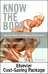 Cover image for Know the Body: Muscle, Bone, and Palpation Essentials - Text and Workbook Package