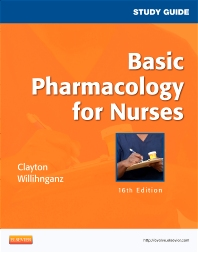 Cover image for Study Guide for Basic Pharmacology for Nurses