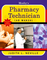 Cover image for Mosby's Pharmacy Technician Lab Manual Revised Reprint