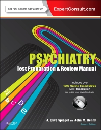 Cover image for Psychiatry Test Preparation and Review Manual