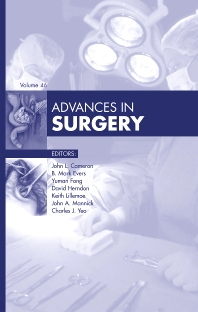 Advances in Surgery - 1st Edition - ISBN: 9780323088725, 9780323089555