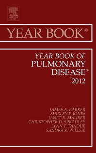 Cover image for Year Book of Pulmonary Diseases 2012